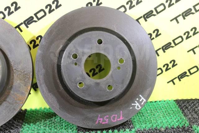 Диск тормозной. Suzuki Escudo, TA74W, TD54W, TD94W, TDA4W Suzuki Grand Vitara, 3TD62, FTB03, JT Двигатели: H25A, H27A, J20A, J24B, M16A