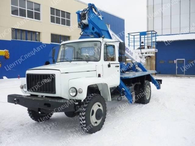 ГАЗ-33081. Автогидроподъемник ГАЗ 33081 / ГАЗ 33088 (4х4), 4 750куб. см., 18,00м.