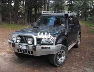 Шноркель. Nissan Patrol, Y61 Nissan Safari Двигатели: TD42, ZD30DDTI, TB45E, TD42T