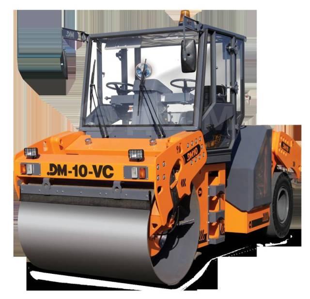 Завод ДМ DM-10-VC. Каток дорожный комбинированный вибрационный DM-10-VC(вес 11 т, шир пол