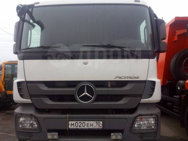 Mercedes-Benz Actros. Mercedes-BENZ Actros 3341S 6Х4 бу (2013 г., 320 000 км. ), 5 000куб. см., 40 000кг.