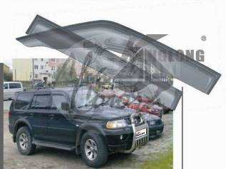 Ветровик на дверь. Mitsubishi Pajero Sport, K90, K94W, K96W, K97W Mitsubishi Challenger, K94W, K94WG, K96W, K97WG, K99W