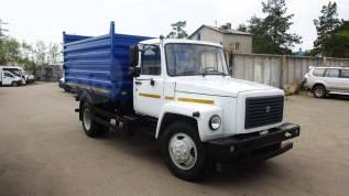 ГАЗ 330860. ГАЗ 3309 Самосвал, 4 400куб. см., 4 250кг.