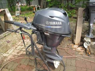 Yamaha. 15,00л.с., 4-тактный, бензиновый, нога S (381 мм), 2012 год год