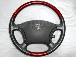 Руль. Toyota: Land Cruiser, Alphard Hybrid, Camry, Estima Hybrid, Land Cruiser Prado, 4Runner, Highlander, Avensis Verso, Estima, Alphard, Hilux / 4Ru...