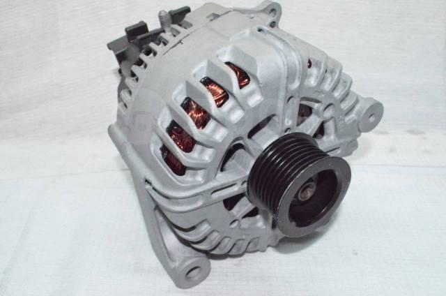 Генератор. Volkswagen Transporter BMW X5, E70 Двигатели: AAB, AAC, ABL, ACC, ACU, ACV, AES, AET, AEU, AFK, AGX, AHY, AJA, AJT, AMV, APL, APT, ATA, AUF...