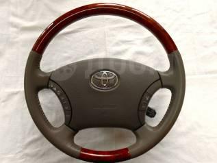 Руль. Toyota: Land Cruiser, Alphard Hybrid, Camry, Estima Hybrid, Land Cruiser Prado, 4Runner, Highlander, Estima, Avensis Verso, Alphard, GX470, Hilu...