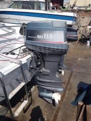 Yamaha. 90,00л.с., 2-тактный, бензиновый, нога X (635 мм), 1990 год год
