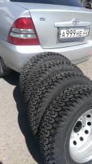 "Комплект колес на внедорожник. 6.0x15"" 5x139.70 ET48 ЦО 98,6мм."