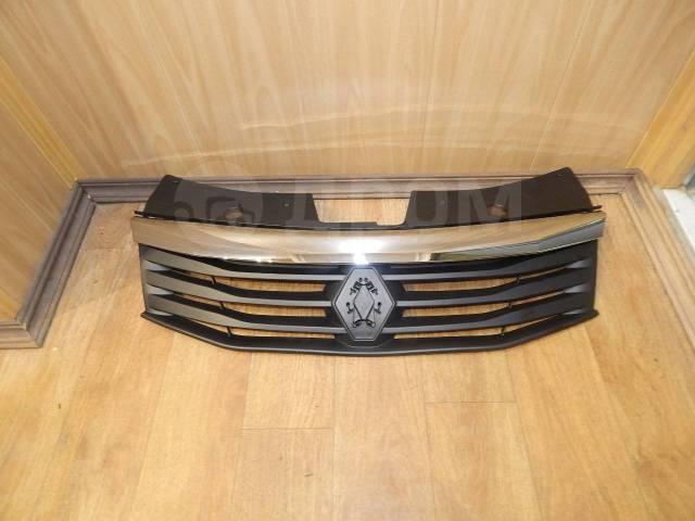 Решетка радиатора. Renault Sandero Stepway Renault Logan Двигатели: D4D, D4F, K4M, K7J, K7M, K9K
