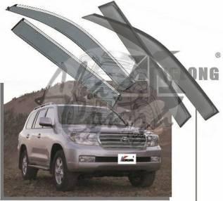 Ветровик на дверь. Toyota Land Cruiser, GRJ200, HDJ100L, HDJ101K, HZJ105L, J100, J200, URJ200, URJ202W, UZJ100L, UZJ100W, UZJ200, UZJ200W, VDJ200 Двиг...