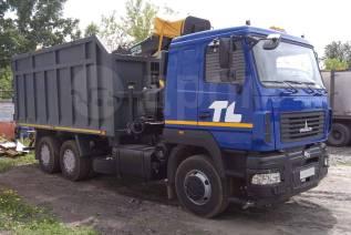 МАЗ 6312. Ломовоз B5-8429-012 с КМУ Майман 110S, 11 120куб. см., 22 750кг., 6x4