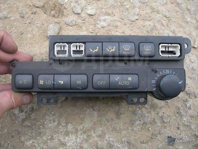 Блок управления климат-контролем. Toyota Mark II, GX90, JZX90, JZX90E, JZX93, LX90, LX90Y, SX90 Toyota Cresta, GX90, JZX90, JZX93, LX90, SX90 Toyota C...