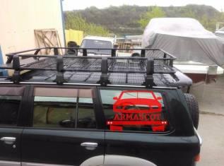 Багажник на крышу. Toyota Lite Ace Toyota Land Cruiser Toyota Noah Toyota Land Cruiser Prado УАЗ Пикап Mitsubishi Delica, P03W, P04W, P05W, P15W, P24W...