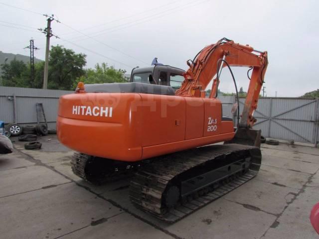 Hitachi ZX200. Гусеничный экскаватор -E (болотоход) ПСМ, ГТД, ДКП, 1,00куб. м.