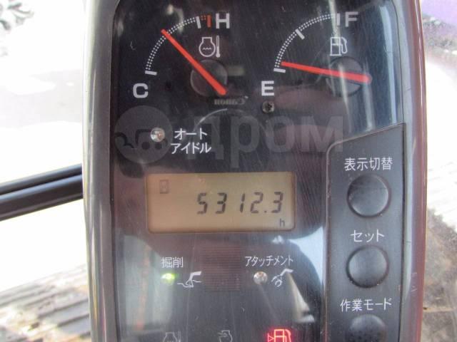 Hitachi ZX200. Гусеничный экскаватор -E (болотоход), 1,00куб. м.