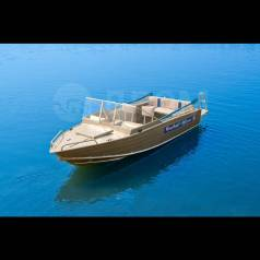 Wyatboat. 2017 год год, длина 4,60м., двигатель подвесной, 50,00л.с., бензин
