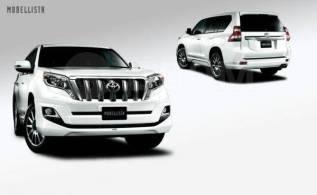 Губа. Toyota Land Cruiser Prado, GDJ150, GDJ150L, GDJ150W, GDJ151W, GRJ150, GRJ150L, GRJ150W, GRJ151W, KDJ150, KDJ150L, LJ150, TRJ150, TRJ150L, TRJ150...