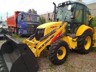 New Holland BB. Продается экскаватор-погрузчик New Holland B90B LR, 3 500кг., Дизельный, 2,00куб. м. Под заказ