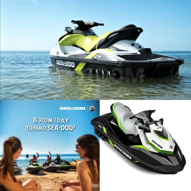 BRP Sea-Doo GTI. 130,00 л.с., 2017 год год