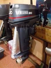 Yamaha. 20,00л.с., 2-тактный, бензиновый, нога L (508 мм)