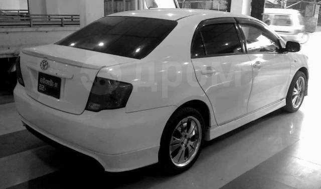 Накладка на бампер для Toyota Axio 141 кузов. Toyota Corolla Axio, NZE141, ZRE141, ZZE141