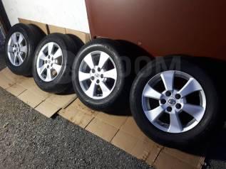 """Летние Bridgestone 215/65R16 На Оригинальном Литье Тойота From Jaрan. 6.5x16"""" 5x114.30 ET33"""