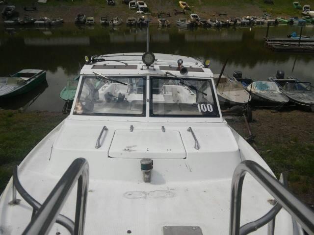 Yamaha Fish 24. 1990 год год, длина 7,50м., двигатель подвесной, 200,00л.с., бензин