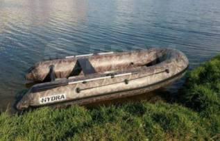Лодка Гидра / Hydra 350 Про, ткань 850 г/м2. 2017 год год, длина 3,50м., двигатель подвесной, 18,00л.с., бензин