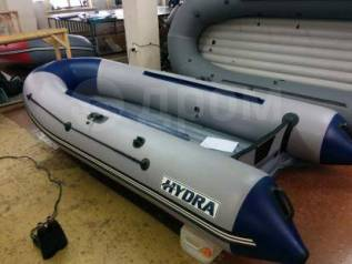 Лодка Гидра / Hydra 365 Оптима, ткань 800 г/м2. 2018 год год, длина 3,60м., двигатель подвесной, 20,00л.с., бензин