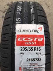 Kumho Solus/Ecsta HS51. Летние, 2017 год, без износа, 4 шт