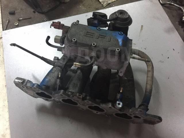 Коллектор впускной для двигателя Daihatsu T1444. Daihatsu Pyzar, G301G, G303G, G311G, G313G Двигатели: HDEP, HEEG
