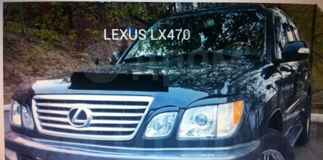 Накладка на фару. Toyota Land Cruiser Cygnus, UZJ100W Lexus LX470, UZJ100 Двигатель 2UZFE