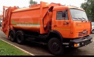 КамАЗ 65115. МК-4444-08 на шасси КамАЗ-65115-773081-42 Мусоровоз б/к кузов, портал