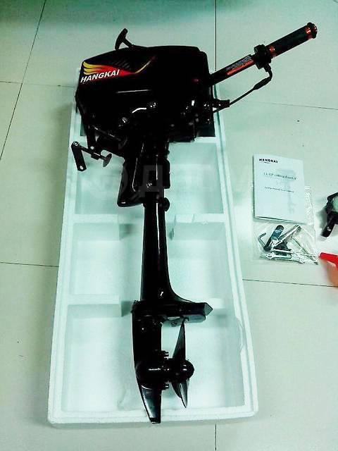 Hangkai. 3,60л.с., 2-тактный, бензиновый, нога S (381 мм), 2017 год год