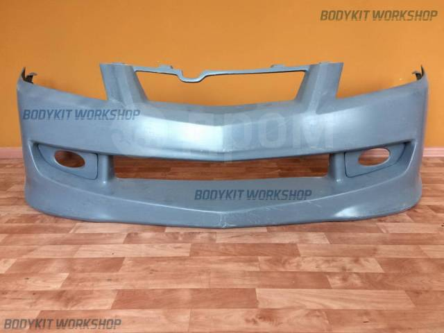 Передний бампер Mugen+маски ПТФ для Honda Accord CL9 CL7. Honda Accord, CL7, CL9
