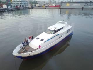 Морские прогулки, на роскошном моторном катере 65ft с Сауной !. 20 человек, 40км/ч