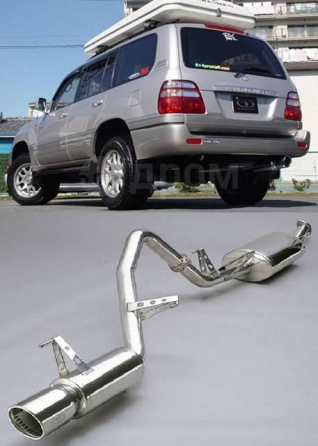 Выхлопная система. Subaru: Legacy Grand, Impreza WRX STI, XV, Forester, Levorg, BRZ, Exiga, Impreza, Legacy Toyota: Hiace, Hilux, FJ Cruiser, Noah, Ve...