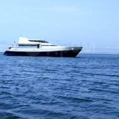 Морские прогулки, на роскошной моторной яхте 65ft с Сауной!. 20 человек, 40км/ч
