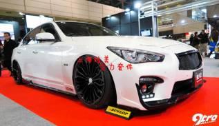 Обвес кузова аэродинамический. Nissan Skyline, HNV37, HV37, YV37, ZV37 Infiniti Q50L Infiniti Q50, V37. Под заказ