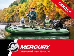 Mercury. 2,50л.с., 2-тактный, бензиновый, нога S (381 мм), 2017 год год