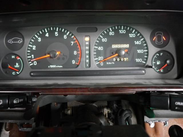 Панель приборов. Subaru Alcyone, CXD, CXW Двигатель EG33D