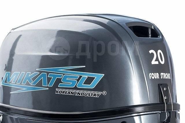 Mikatsu. 20,00л.с., 4-тактный, бензиновый, нога S (381 мм), 2017 год год