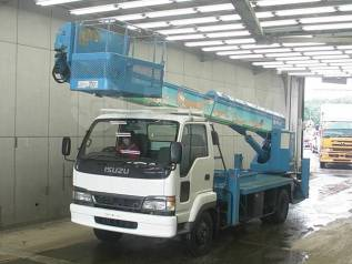 Isuzu Forward. Автовышка 26 метров / Juston Aichi SK260, 7 160куб. см., 26м. Под заказ