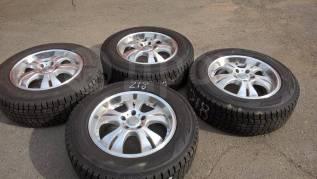 """Продам комплект колес ( 218-Д ) на японском литье. 7.0x17"""" 5x114.30 ET48 ЦО 73,1мм."""