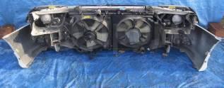 Радиатор охлаждения двигателя. Toyota Caldina, ST210, ST210G Двигатель 3SGE