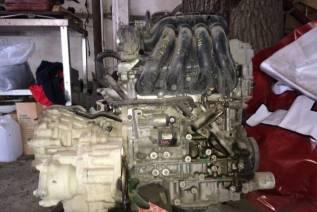 Двигатель в сборе. Nissan X-Trail, T31 Двигатели: QR25, QR25DE
