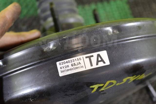 Вакуумный усилитель тормозов. Suzuki Escudo, TA74W, TD54W, TD94W Suzuki Grand Vitara, JT Двигатели: J20A, J24B, M16A, N32A
