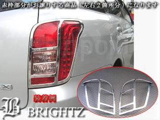 Накладка на стоп-сигнал. Toyota Corolla Axio, NZE144 Toyota Corolla Fielder, NZE144
