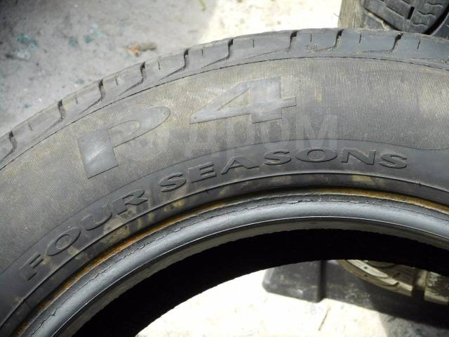 Pirelli P4 Four Seasons. Летние, 2012 год, 20%, 2 шт